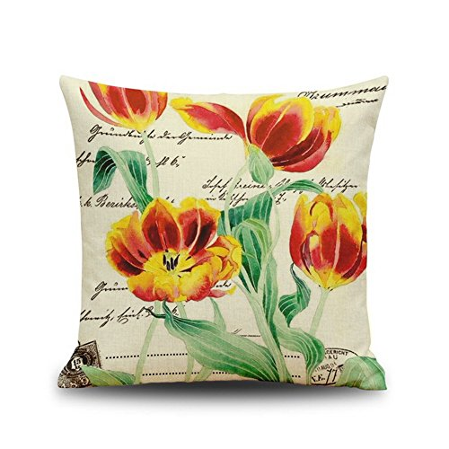 1818-beautiful-flower-stamp-bedroom-pillowcase-sofa-chair-cushion-f07
