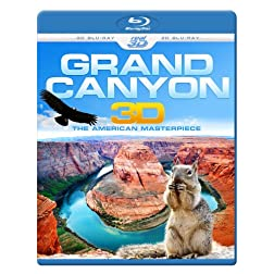 Grand Canyon 3D - The American Masterpiece  REGION FREE [Blu-ray]
