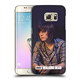 Official AMC The Walking Dead Carl Filtered Characters Hard Back Case for Samsung Galaxy S7 edge