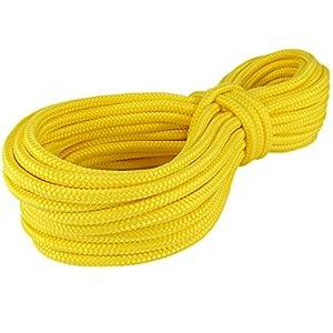 Polypropylenseil SH 6mm Meterware gelb Polypropylen Seil Reepschnur Leine Schnur Festmacher Rope