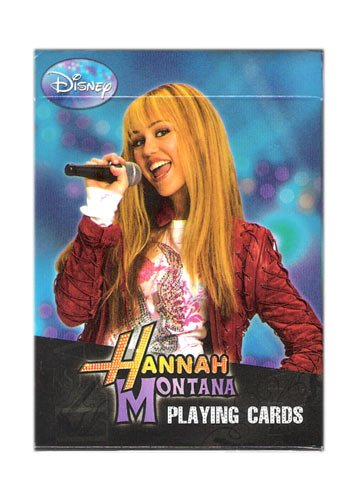 Hannah Montana Playing Cards