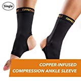 CopperJoint Compression Ankle Sleeve (Medium)