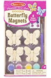 Melissa & Doug DYO Wooden Butterfly Magnets
