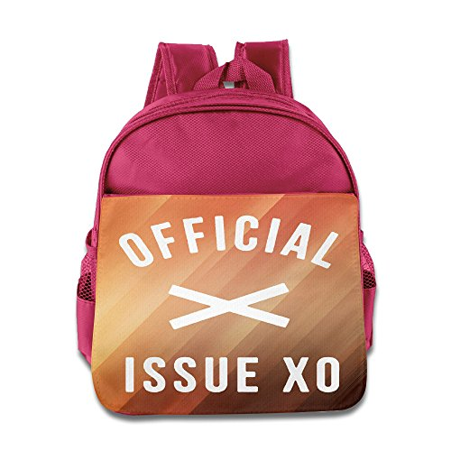 [Custom The Weeknd Official Issue Superb Kids School Backpack For 1-6 Years Old Pink] (Ghana Costume For Boys)