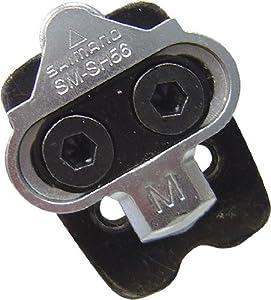 Shimano SPD easy-off pedalset Design SM-SH56 mit Gegenplatte für Mehrfachausstieg 2013 Pedal Cleats