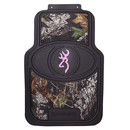browning-buckmark-floor-mat-mossy-oak-country-camouflage-pink-buckmark-set-of-2