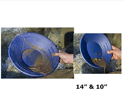 2-Pack-Blue-VAS-Professional-49er-Gold-Pans-High-Impact-Plastic