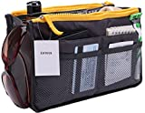 Zatous(ザータス)バッグインバッグ 多機能 大容量 収納バッグ インナーバッグ 化粧品収納ポーチ メイクバッグ 旅行 通勤 便利グッズ bag in bag