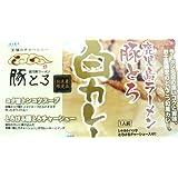 鹿児島ラーメン豚とろ 白カレー (箱入) 【全国こだわりご当地カレー】
