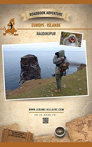 Couverture du livre Raudinupur Islande Europe: Roadbook Adventure (Edition Française)