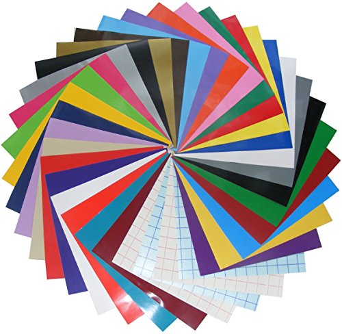 qbc-craft-12x12-permanent-adhesive-crafting-vinyl-sheets-36-pack-assortment-multi-color-with-transfe