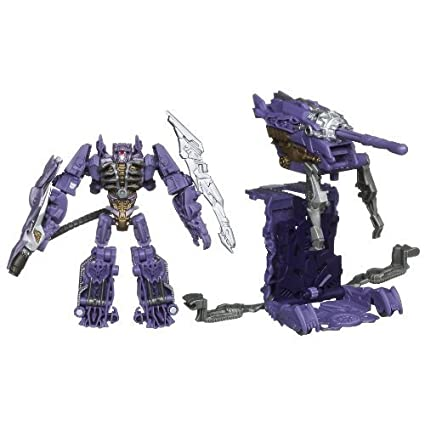 TRANSFORMERS DARK OF THE MOON CYBERVERSE SHOCKWAVE with Fusion Tank by Hasbro (English Manual)