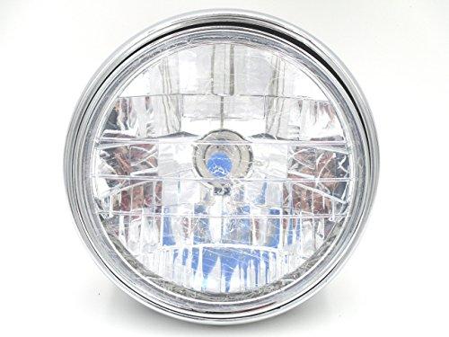 汎用 バイク バギー 用 ヘッド ライト CB400SF ZRX400 ホンダ ヤマハ 社製などに 【社外品】 (バイク 用)