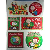 Peanuts Static Cling Window Decoration Christmas T