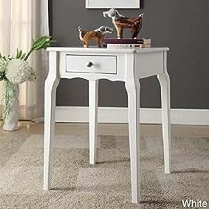 Amazon.com : INSPIRE Q Daniella 1-drawer Wood Storage Accent Side
