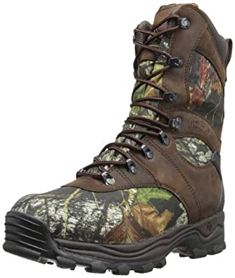 Rocky Men's Sport Utility Nine Inch Hunting Boot,Mobu,8 M US