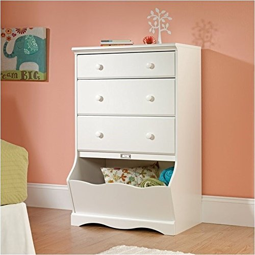sauder-pogo-3-drawer-chest-soft-white-finish