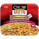 Nissin Chow Mein Premium Teriyaki Beef, 4.0 Ounce (Pack of 12)