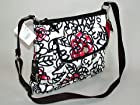 COACH Poppy Daisy Floral Graffiti Crossbody Tote Bag in Silver / Multi 16864