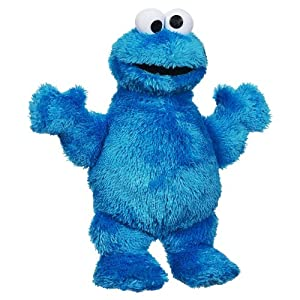 Sesame Street Playskool Let's Cuddle Cookie Monster Plush