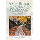 Forty Studies that Changed Psychology: Explorations into the History of Psychological Research (6th Edition)