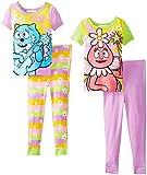 Komar Kids Little Girls'  Yo Gabba 4 Piece Cotton Set