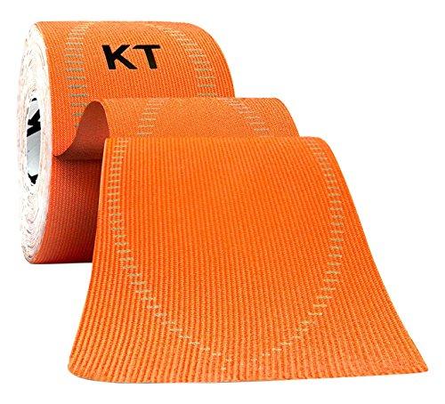 KT Tape PRO - 20strisce di nastro sintetico kinesiologico, pre-tagliate, unisex, Pro 20 Strip, Blaze Orange, N/A