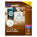 Avery Print - To - The - Edge Round L...