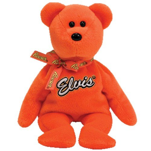TY Beanie Baby - COCO PRESLEY the Bear (Orange Version - Walgreen's Exclusive)