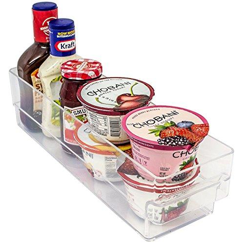 Sorbus® Fridge Bins and Freezer Organizer Refrigerator Bins Stackable Storage Containers BPA-Free Drawer Organizers for Refrigerator Freezer and Pantry Storage (Slim Refrigerators With Freezer compare prices)