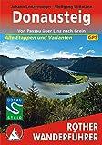 Donausteig: Von Passau über Linz nach Grein. Alle Etappen und Varianten. Mit GPS-Tracks (Rother Wanderführer)