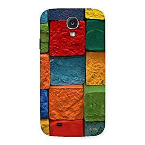 Cute Color Cubes Multicolor Back Case Cover for Samsung Galaxy S4