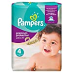 Pampers Active Fit Nappies, Size 4 (T...