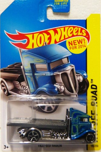 2014 Hot Wheels Hw Off-Road 105/250 - Fast-Bed Hauler (Hot Wheels Semi Truck compare prices)