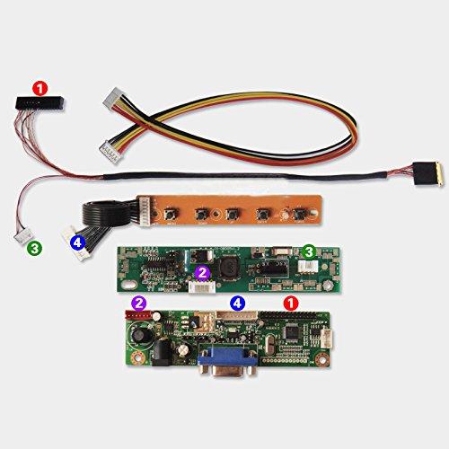 Lta133At09 B133Ew07 N133I6 13.3 Inch 1280X800 Led Panel Diy A Monitor Controller Kit Vga Lvds Ad Board Laptop Lcd Screen Reused(Please Provide Exact Lcd Model)
