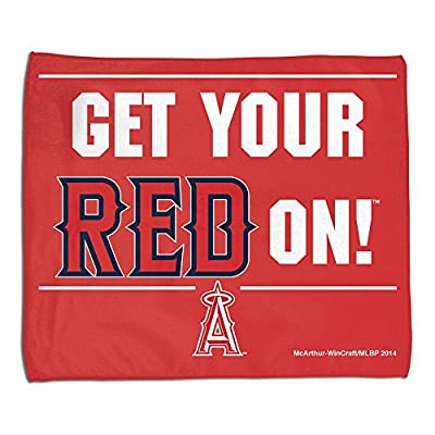 Los Angeles Angels Official MLB 15 inch x 18 inch Rally Towel by McArthur 219350