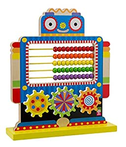 Alex toys junior count n spin abacus robot for Alex co amazon