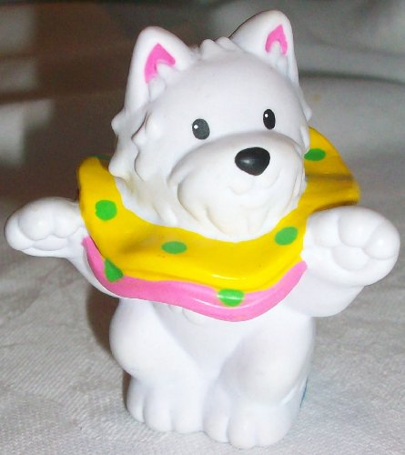 Buy Low Price Mattel Fisher Price Little People White Circus Dog Replacement Figure Doll Toy (B002IYJ2AK)