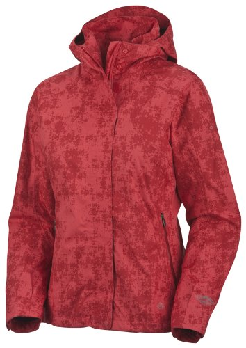Columbia Women's Backpacking Beauty Omni-Tech Jacket - Burnt Henna, Medium
