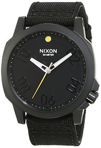 nixon-a514001-00-montre-homme-quartz-analogique-bracelet-nylon-noir