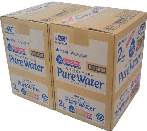 [2CS]伊藤園 PureWater (2L×6本)×2箱