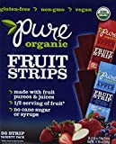 Pure Organic Fruit Strips Variety Pack, 36 Count