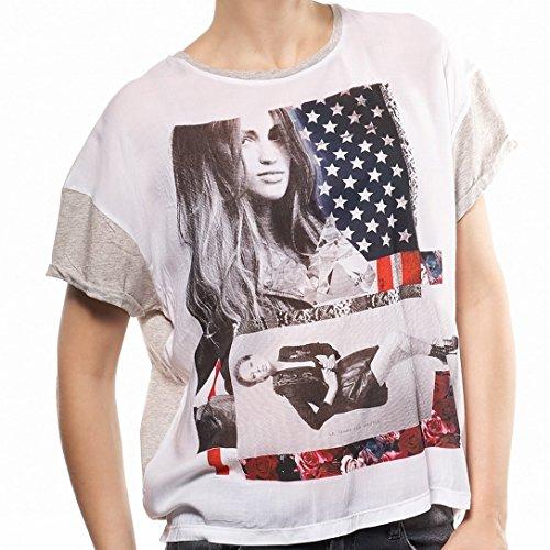 Le Temps des Cerises -  T-shirt - Donna bianco S