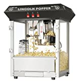 Great Northern Popcorn Black Bar Style Lincoln 8 Ounce Antique Popcorn Machine (Bar Style) Discount