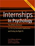 img - for Internships in Psychology: The APAGS Workbook for Writing Successful Applications and Finding the Right Fit book / textbook / text book