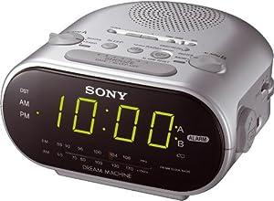 sony alarm clock sony radio alarm clock dream machine. Black Bedroom Furniture Sets. Home Design Ideas