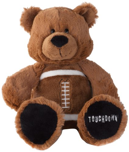 Nat and Jules Game Day Bears Plush Toy, Football - 1