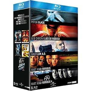 Coffret Vin Diesel [Blu-ray]
