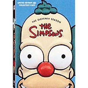 Les Simpson: L'intégrale de la saison 11 - Tête de Krusty - Coffret 4 DVD [Import b