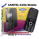 MK Communications Samtel K206 Dual Sim Camera Mobile Phone Bluetooth, FM Radio, GPRS, Internet Browser, MP3 Player...